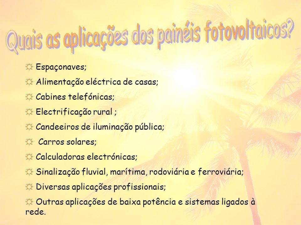 Quais as aplicações dos painéis fotovoltaicos