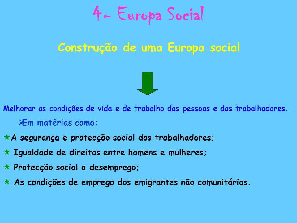 Construção de uma Europa social