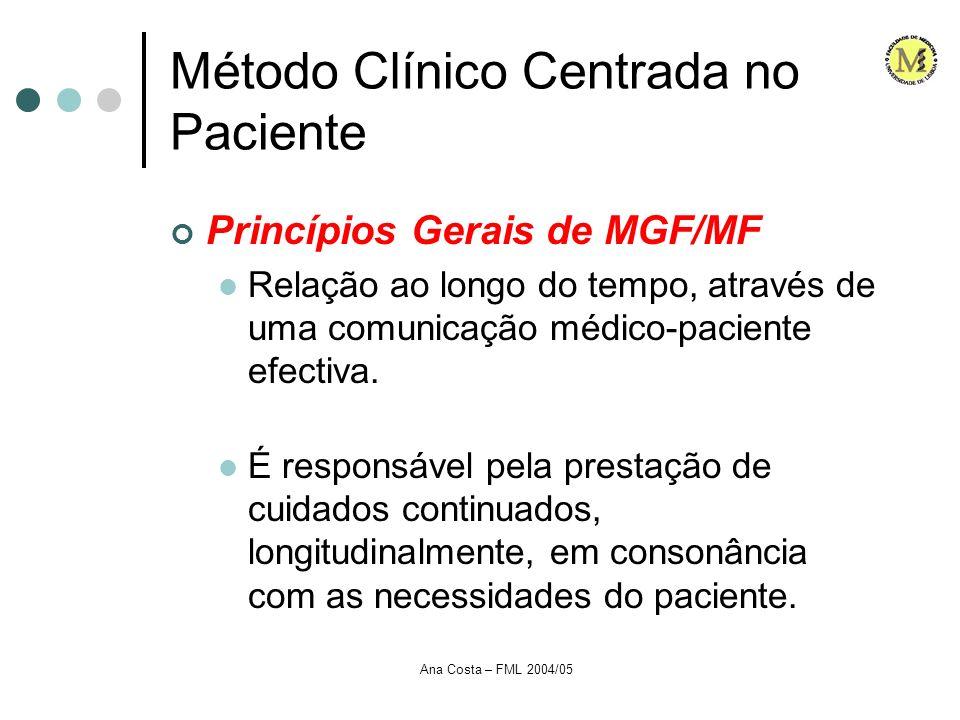 Método Clínico Centrada no Paciente