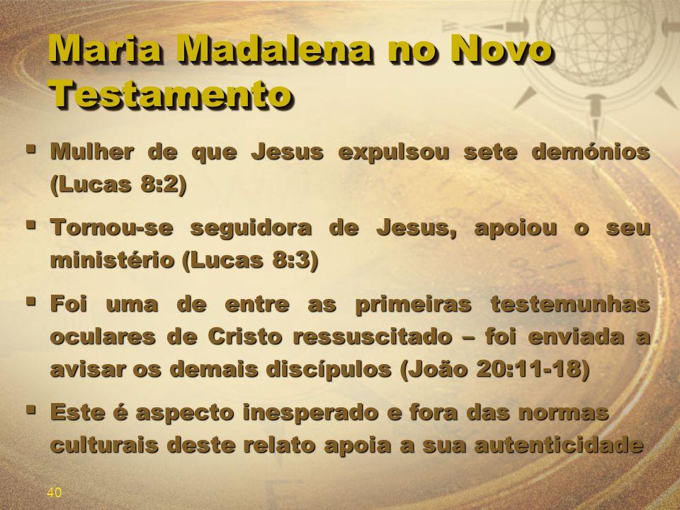 Maria Madalena no Novo Testamento
