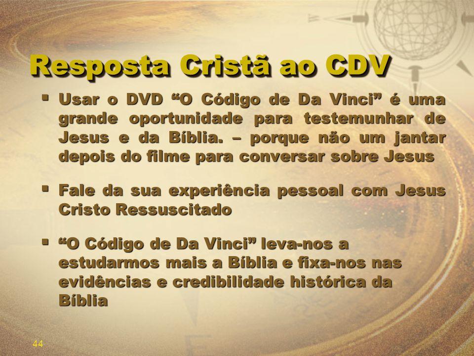Resposta Cristã ao CDV