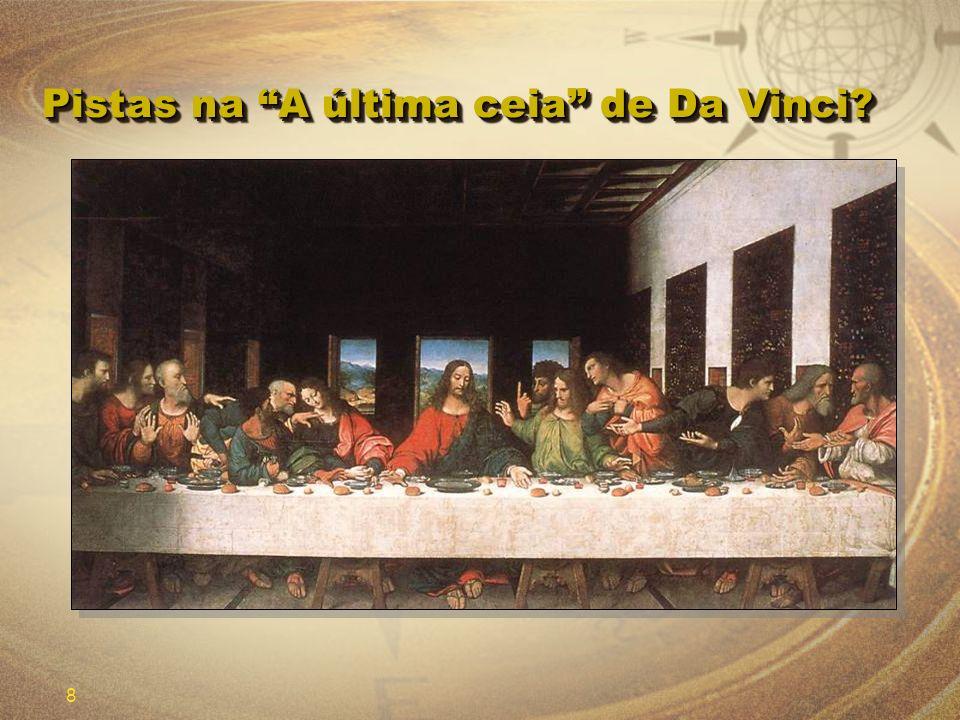 Pistas na A última ceia de Da Vinci