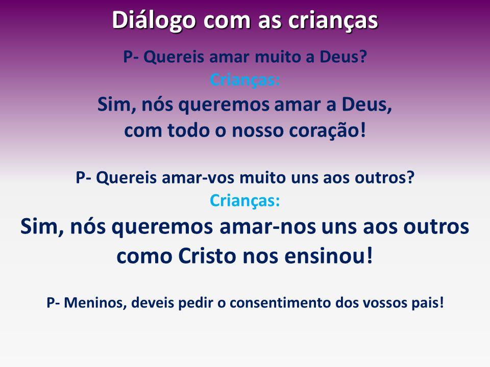 Diálogo com as crianças