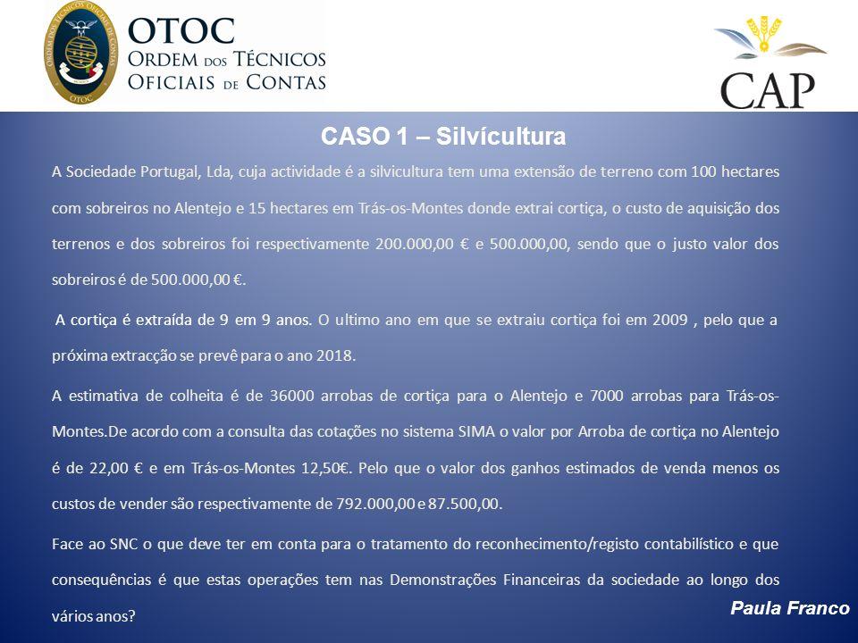 CASO 1 – Silvícultura