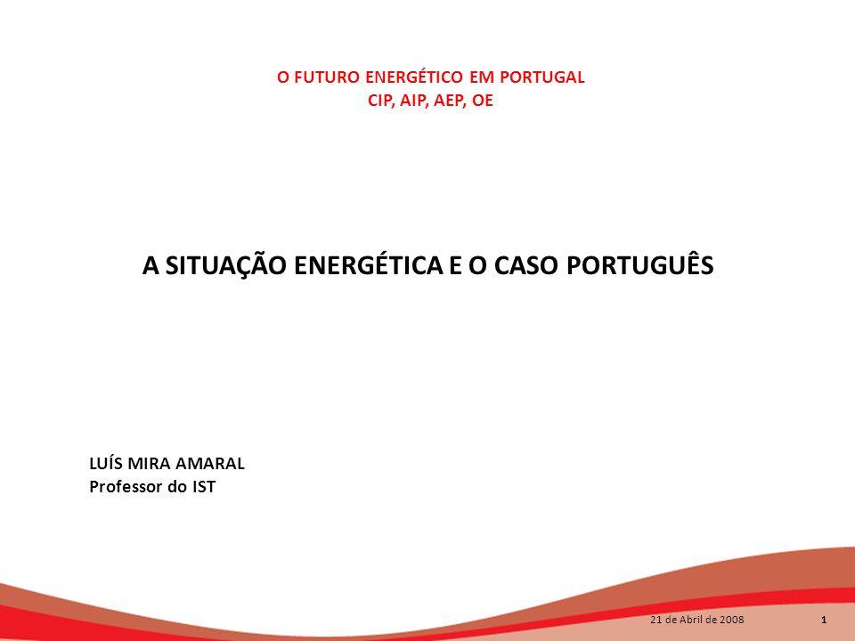 O FUTURO ENERGÉTICO EM PORTUGAL