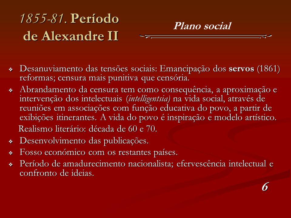 1855-81. Período de Alexandre II