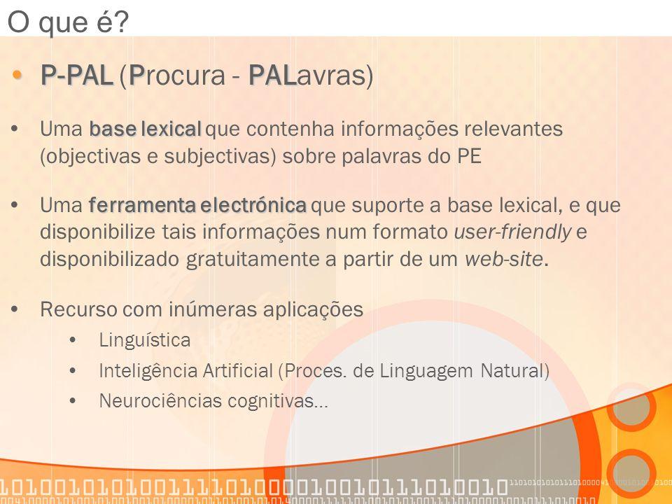 P-PAL (Procura - PALavras)