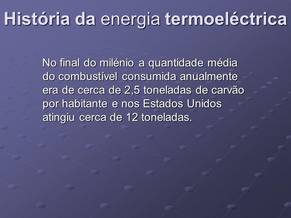 História da energia termoeléctrica