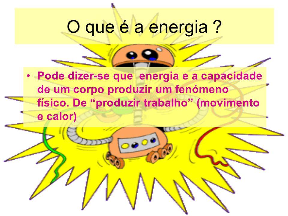 O que é a energia .