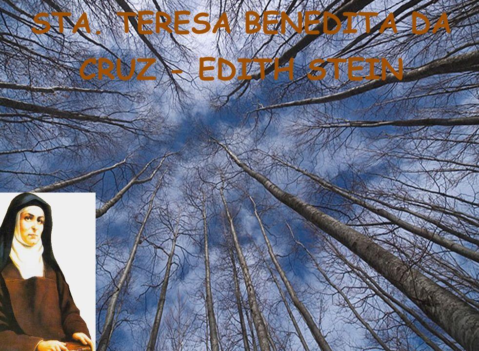 STA. TERESA BENEDITA DA CRUZ - EDITH STEIN