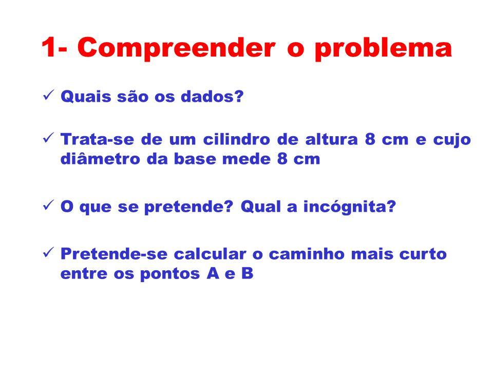 1- Compreender o problema