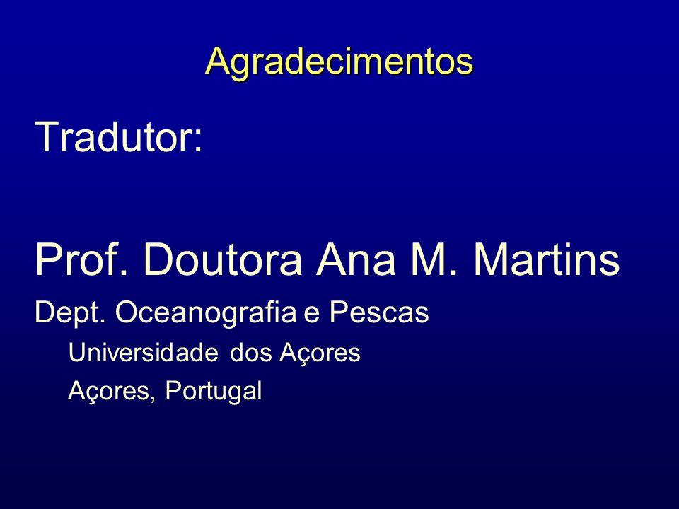 Prof. Doutora Ana M. Martins