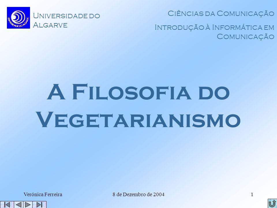 A Filosofia do Vegetarianismo