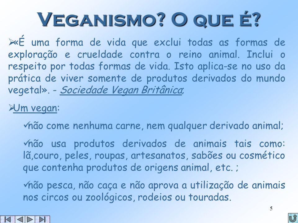 Veganismo O que é