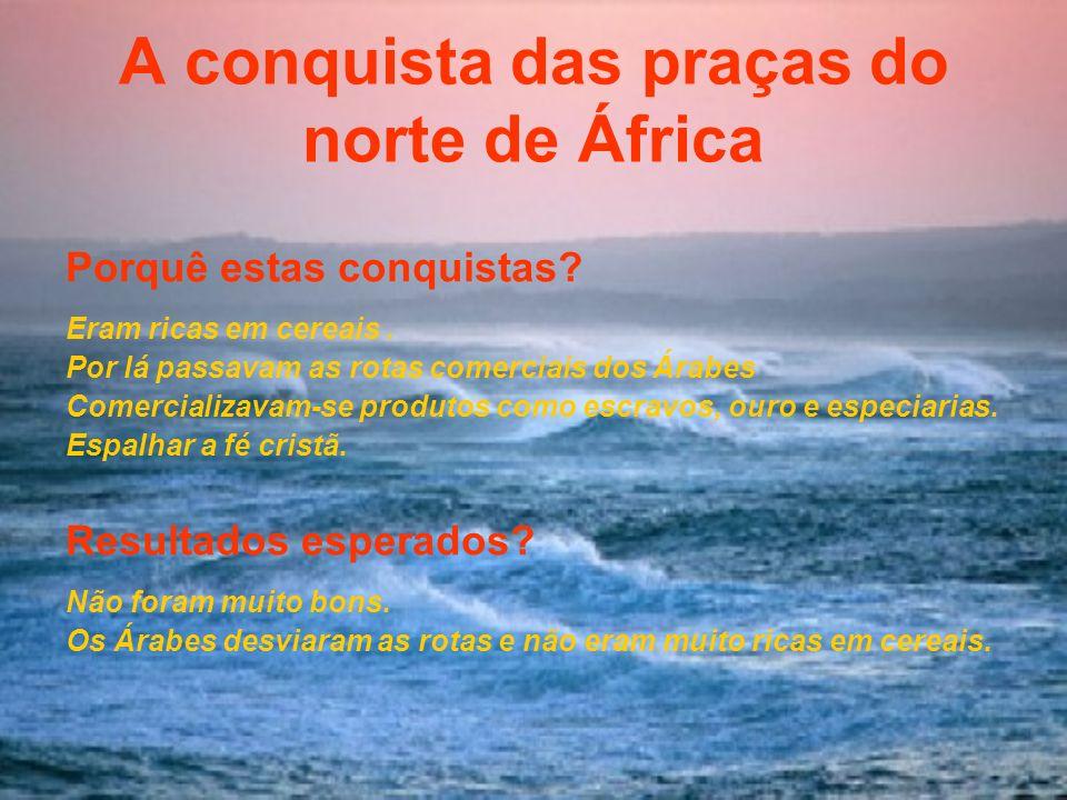 A conquista das praças do norte de África