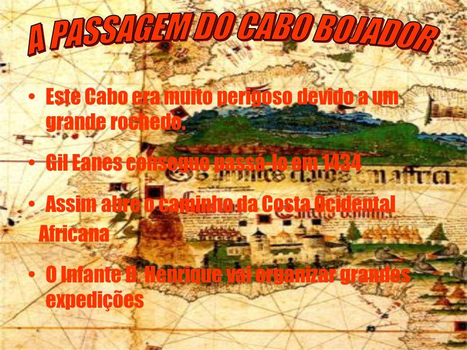 A PASSAGEM DO CABO BOJADOR