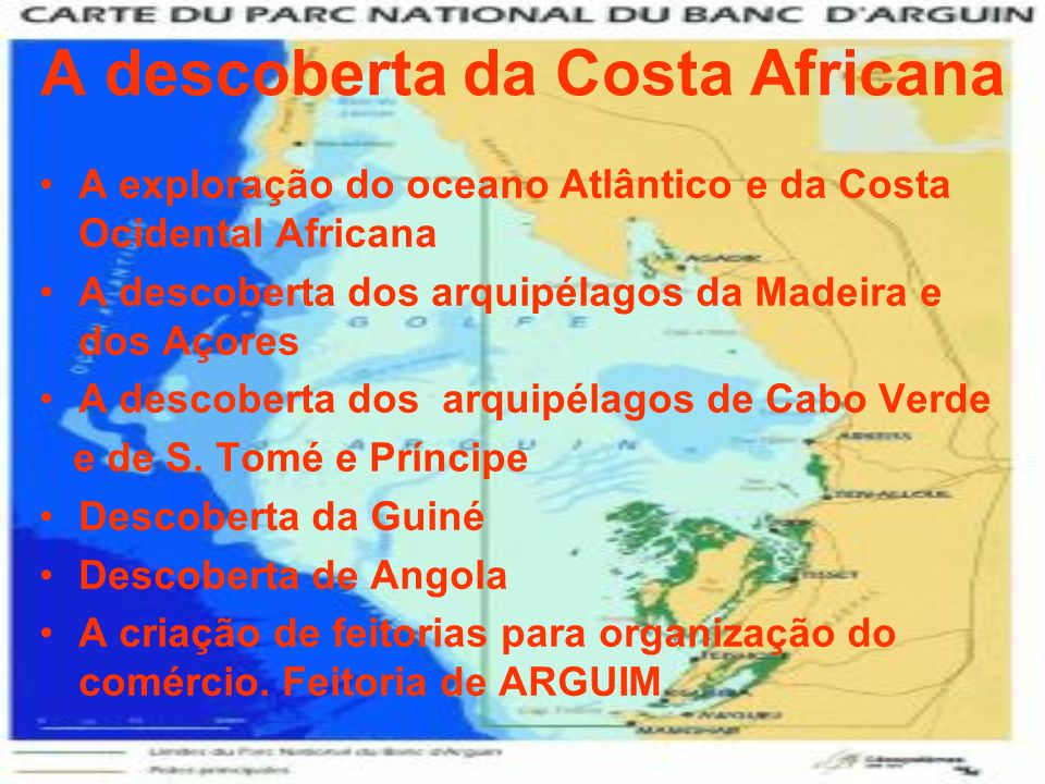 A descoberta da Costa Africana