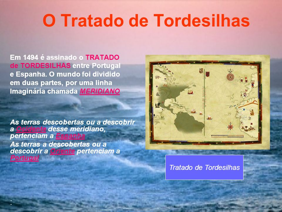 O Tratado de Tordesilhas