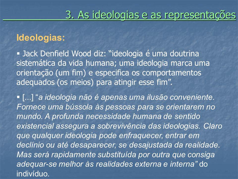 3. As ideologias e as representações