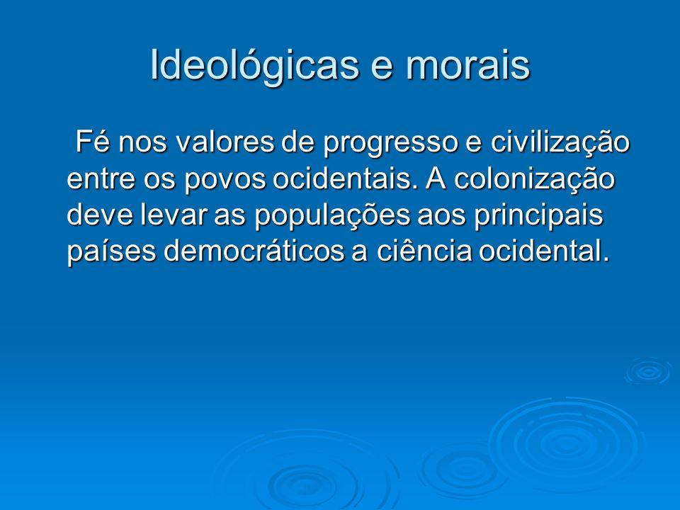 Ideológicas e morais