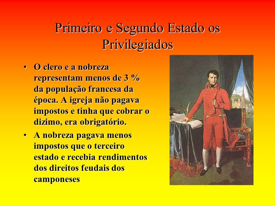 Primeiro e Segundo Estado os Privilegiados