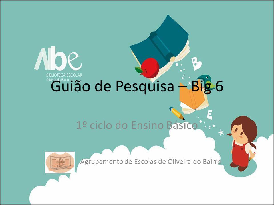 1º ciclo do Ensino Básico Agrupamento de Escolas de Oliveira do Bairro