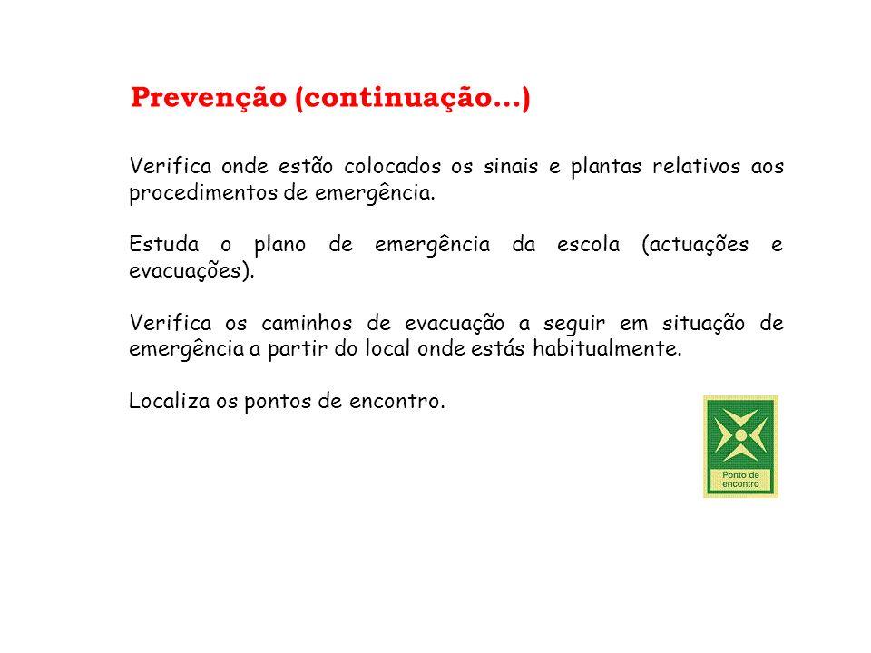Prevenção (continuação…)