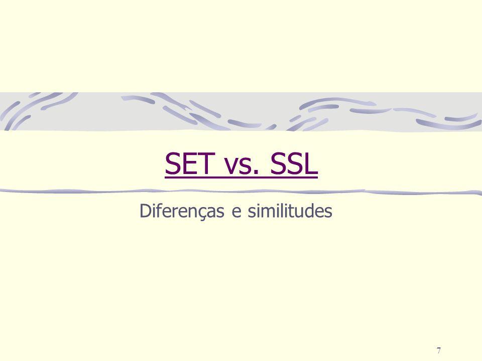 Diferenças e similitudes