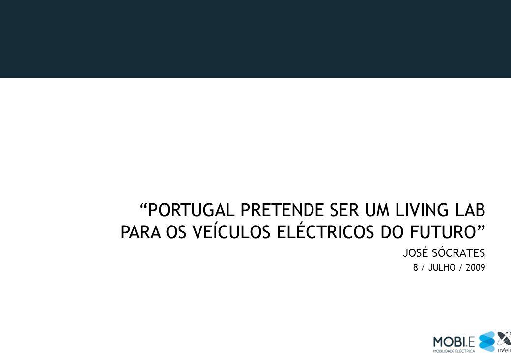 Portugal pretende ser um living lab para os veículos eléctricos do futuro