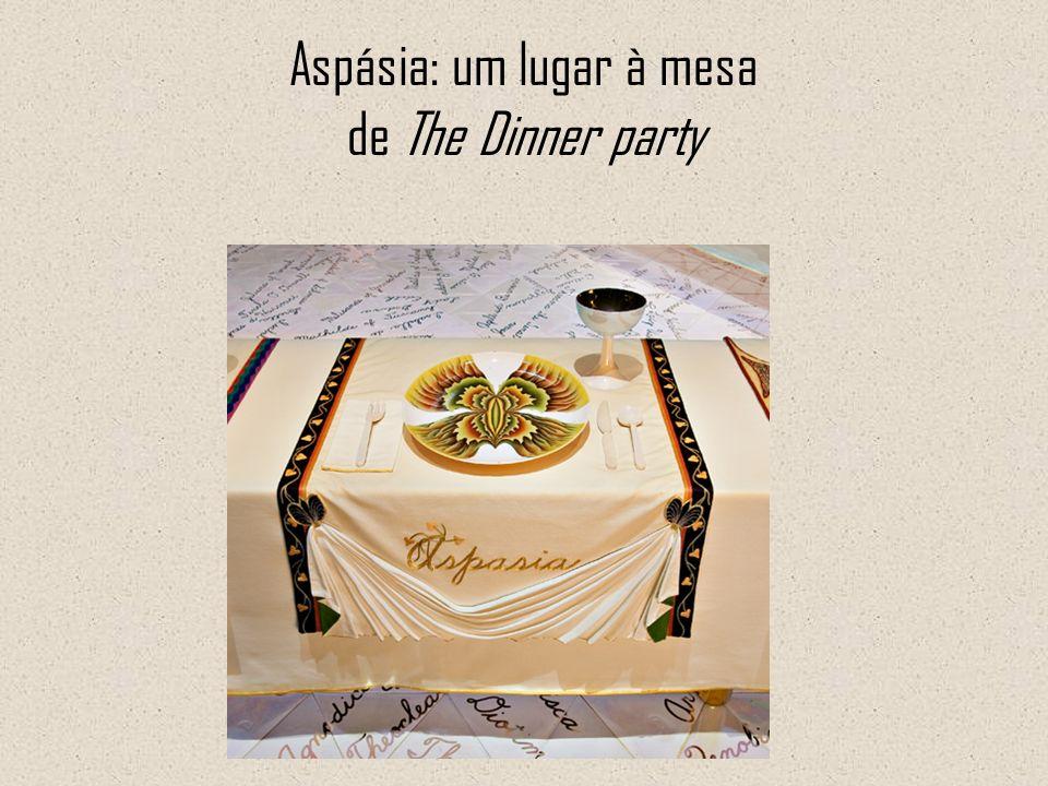 Aspásia: um lugar à mesa de The Dinner party