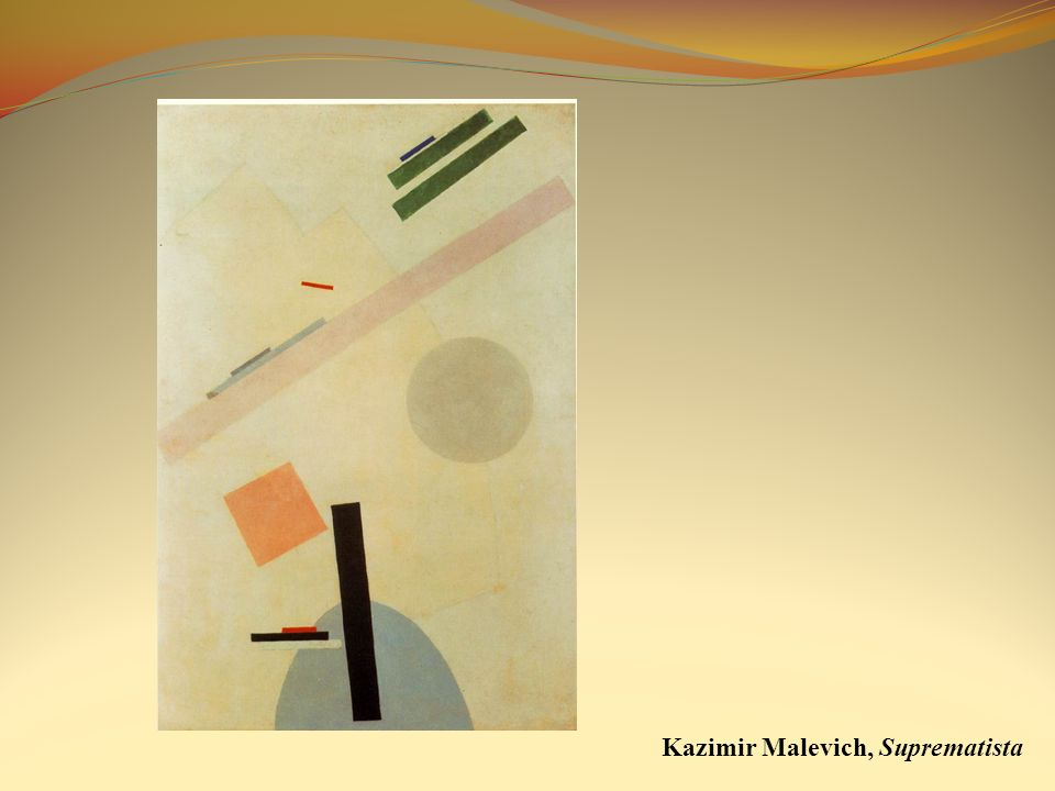 Kazimir Malevich, Suprematista