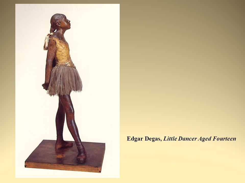 Edgar Degas, Little Dancer Aged Fourteen