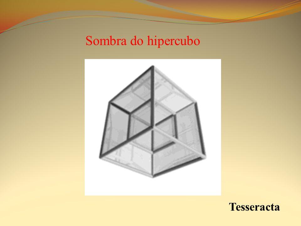 Sombra do hipercubo Tesseracta