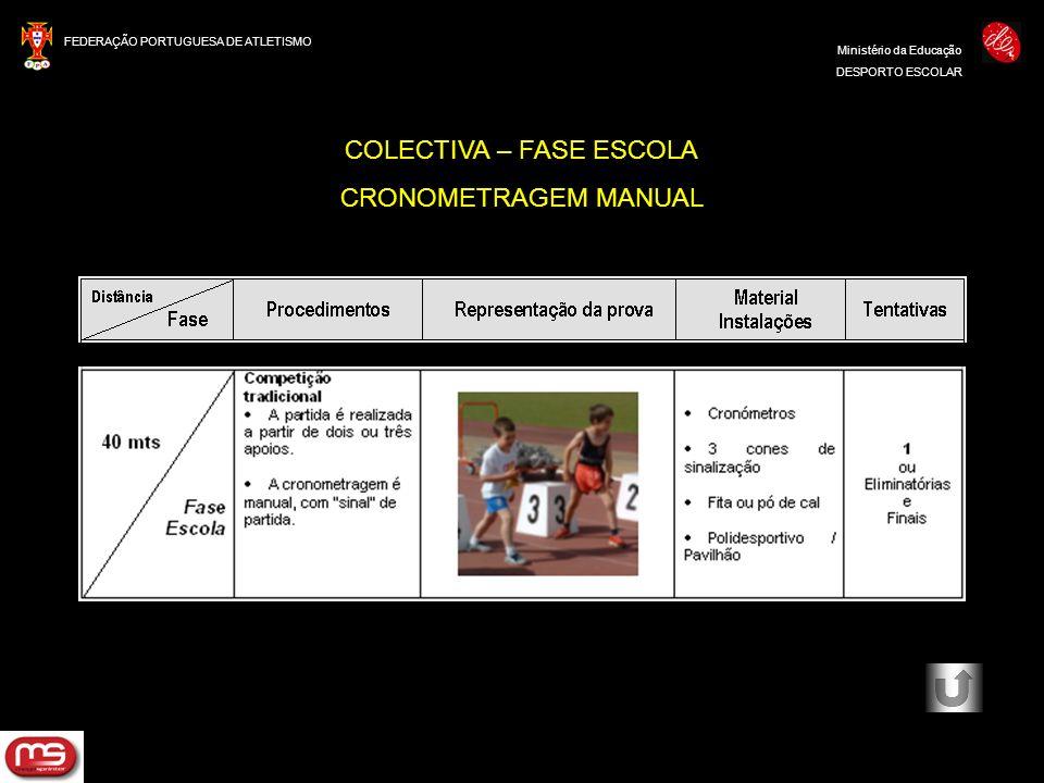 COLECTIVA – FASE ESCOLA