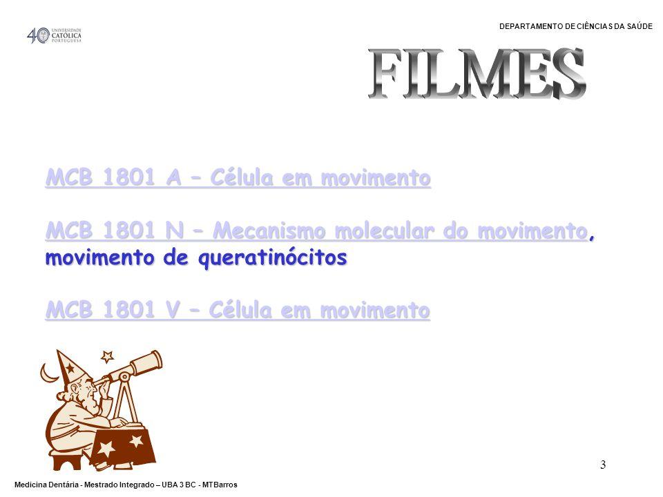 FILMES MCB 1801 A – Célula em movimento