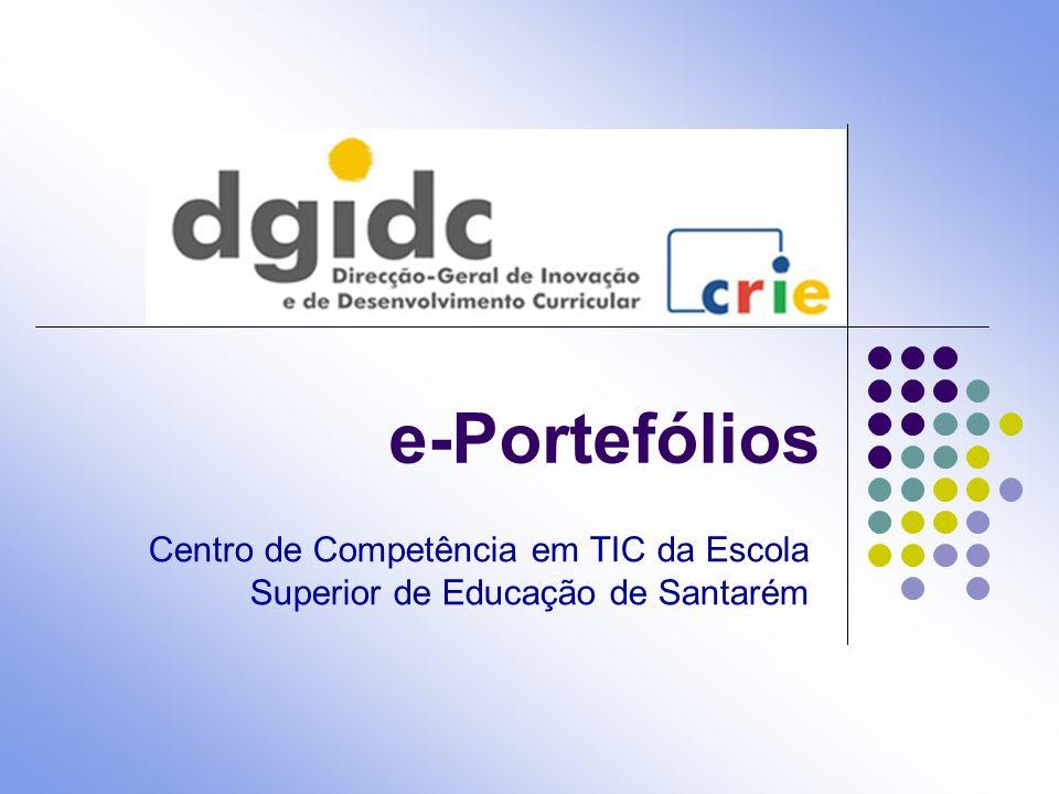 e-Portefólios Centro de Competência em TIC da Escola Superior de Educação de Santarém