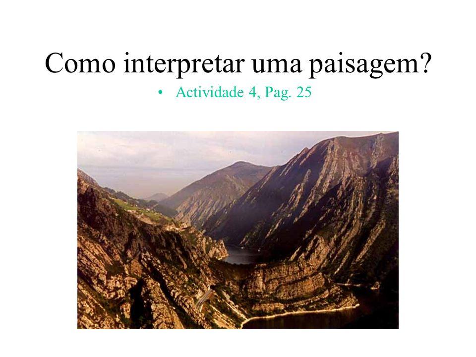Como interpretar uma paisagem