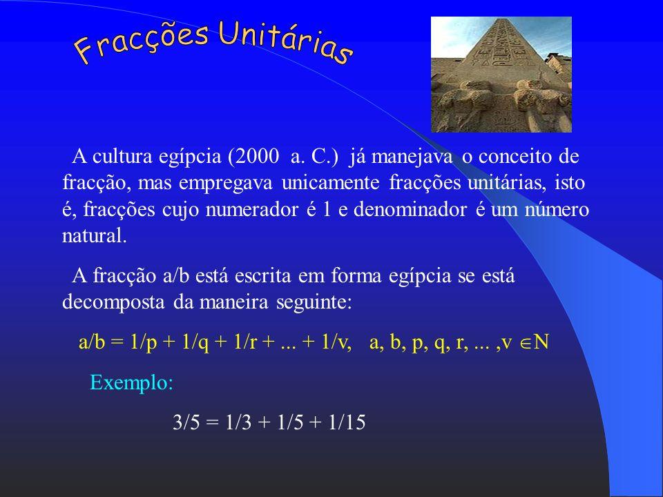 Fracções Unitárias