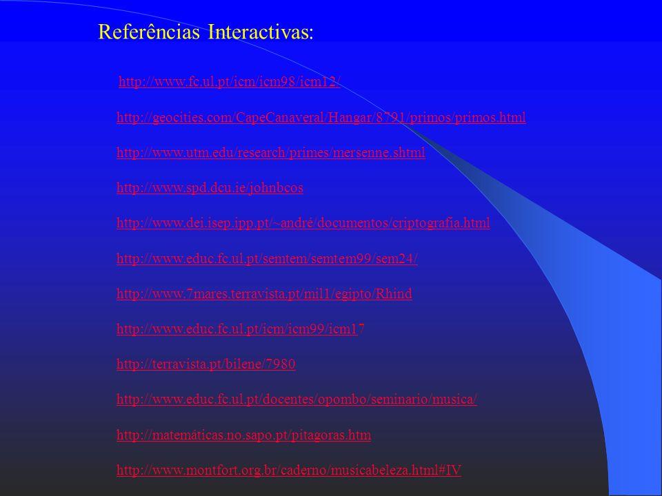 Referências Interactivas: