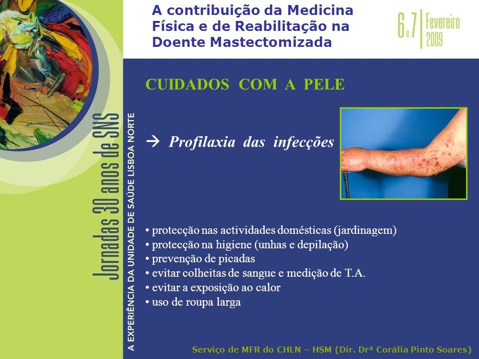  Profilaxia das infecções