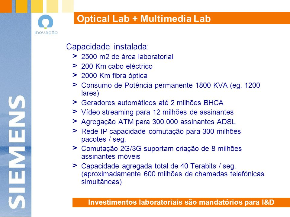 Optical Lab + Multimedia Lab