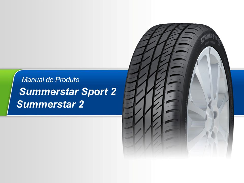 Manual de Produto Summerstar Sport 2 Summerstar 2