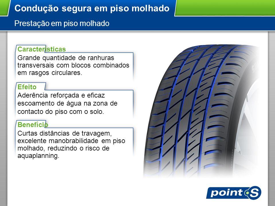 Condução segura em piso molhado