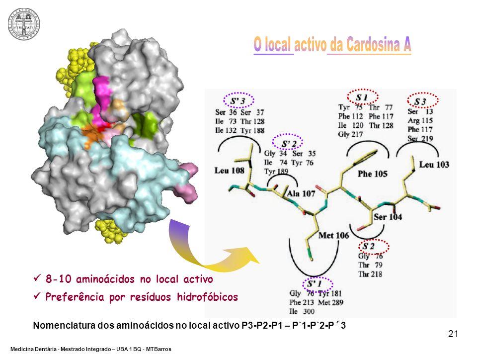 O local activo da Cardosina A