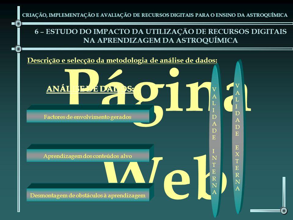 Página Web ANÁLISE DE DADOS: