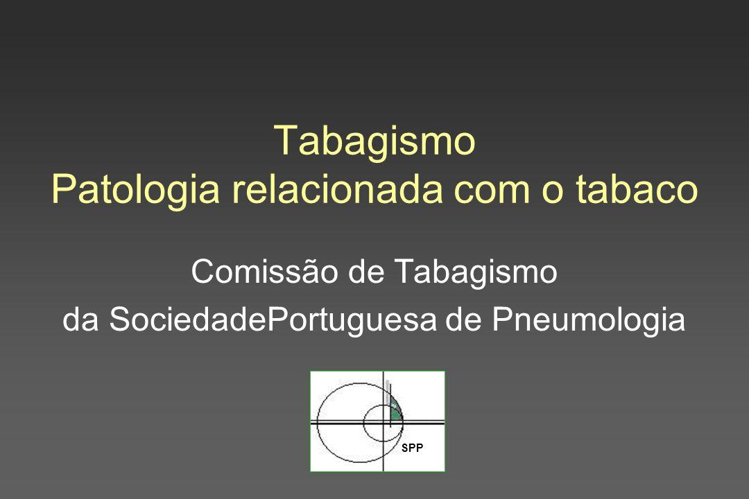 Tabagismo Patologia relacionada com o tabaco