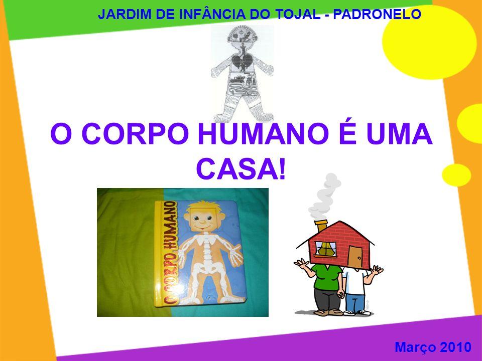 O CORPO HUMANO É UMA CASA!