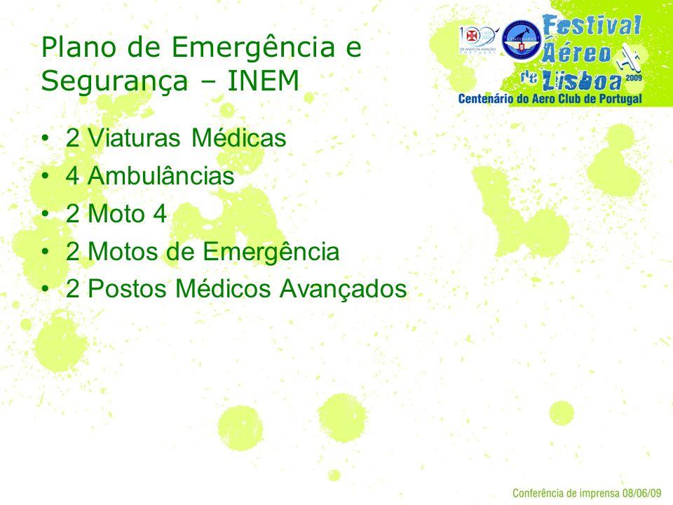 Plano de Emergência e Segurança – INEM