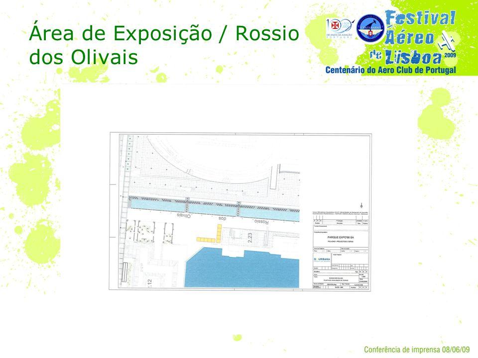 Área de Exposição / Rossio dos Olivais