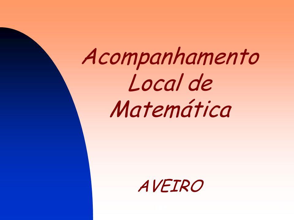 Acompanhamento Local de Matemática